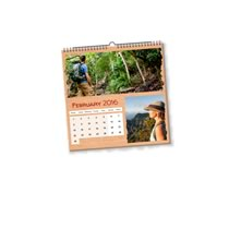 20 x 21cm x 21cm Personalised Desk Calendar incl Delivery
