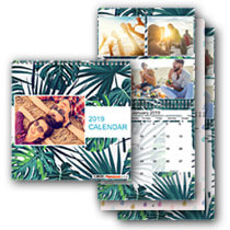 3 x 30cm x 30cm Double Personalised Calendar incl Delivery