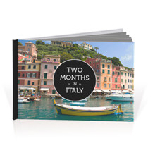 60 Page Hardcover A4 Landscape Photobook incl Delivery