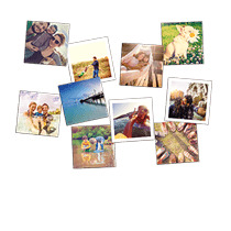 Fridge Magnets 68x68mm 10 Pack incl Delivery