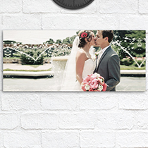 Wood Wall Print 30x70cm (12mm Plywood) incl Delivery