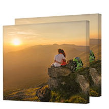 2 Identical 100 x 100cm (40 x 40in) Canvas incl Delivery