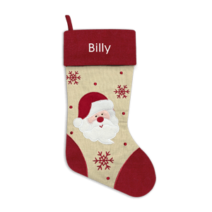 Christmas Stocking<br>Red Santa